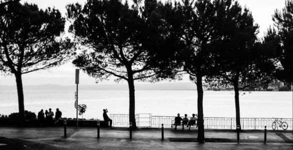 Montreux Riviera In Black And White